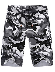 economico -Per uomo Taglie forti Chino Pantaloni - Camouflage