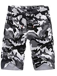 abordables -Hombre Tallas Grandes Chinos Pantalones - camuflaje