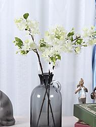 Недорогие -Искусственные Цветы 1 Филиал Простой стиль слива Букеты на стол