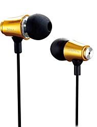 abordables -MJ8500 En el oido Con Cable Auriculares Auricular Cobre Teléfono Móvil Auricular Auriculares