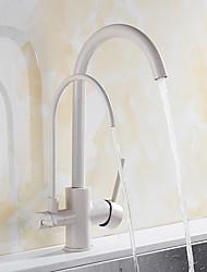 cheap -Kitchen faucet - Antique / Standing Style Multi-Ply Standard Spout Vessel