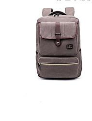 cheap -Unisex Bags Oxford Cloth School Bag Zipper Brown / Gray / Dark Brown