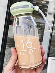 Недорогие -Drinkware Высокое боровое стекло Стекло / Бокал Компактность / Теплоизолированные 1pcs