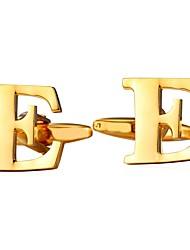 Недорогие -Запонки Мода Брошь Бижутерия Серебряный Золотой Назначение Повседневные Для улицы