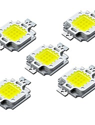 economico -ZDM® 5 pezzi LED ad alta potenza Accessorio lampadina Chip LED Alluminio / LED filo d'oro puro per faretto LED Flood Light fai da te 10W