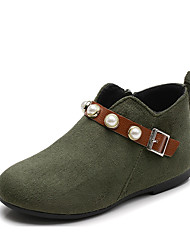 cheap -Girls' Shoes Polyester Fall & Winter Fashion Boots Boots for Army Green