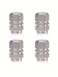 cheap -4pcs Car Valve Cap Business Buckle Type For Car Wheel For universal All Models All years