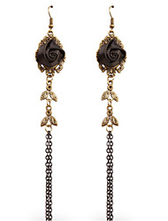 cheap -Gothic Black Lolita Accessories Vintage / Lace Earring Lace