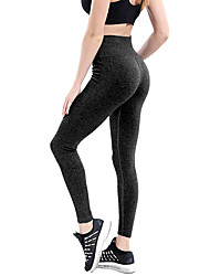 cheap -Women's Yoga Pants Sports High Rise Tights / Leggings Running, Fitness, Gym Activewear Quick Dry, Breathable, Butt Lift High Elasticity