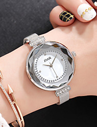 cheap -Women's Dress Watch / Wrist Watch Chinese New Design / Casual Watch / Imitation Diamond Alloy / Leather Band Fashion / Elegant Silver / Pink / Rose Gold / Sony SR920SW / Two Years
