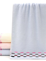 Недорогие -Свежий стиль Полотенца для мытья, Однотонный Горошек Высшее качество 100% хлопок 100% Хлопчатник 1pcs Полотенце для рук