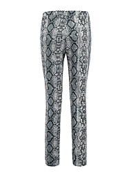 cheap -Women's Sporty Legging - Floral, Mesh Mid Waist
