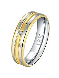 preiswerte -Bandring - 1 Kreisform Grundlegend / Cool Gold Ring Für Alltag / Arbeit
