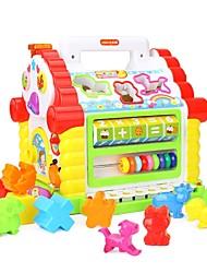 baratos -Brinquedo de Leitura Família Interação pai-filho Revestimento em Plástico Crianças Dom