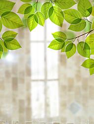 Недорогие -Оконная пленка и наклейки Украшение штейн / Современный Простой ПВХ Стикер на окна / Матовая