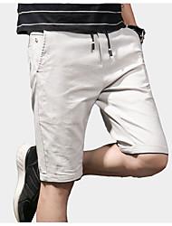 お買い得  -男性用 ベーシック ショーツ パンツ ソリッド