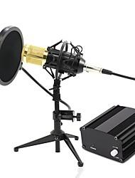 Недорогие -KEBTYVOR BM-800 Кабель Микрофон Микрофон Конденсаторный микрофон Ручной микрофон Назначение Компьютерный микрофон