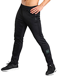 cheap -Men's Running Pants Fitness, Running & Yoga Tights / Bottoms Exercise & Fitness / Jogging / Fitness Polyester, Spandex Black L / XL / XXL