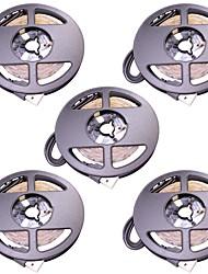 abordables -4m Bandes Lumineuses LED Flexibles 240 LED 2835 SMD Blanc Chaud / Blanc Froid USB Alimenté par Port USB 5pcs