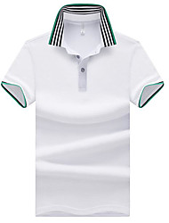 cheap -Men's Street chic Polo - Striped