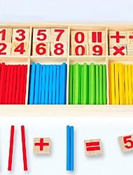 Недорогие -Игрушечные счеты Взаимодействие родителей и детей деревянный 1 pcs Куски Детские Подарок