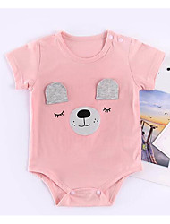 cheap -Baby Unisex Solid Colored Short Sleeve Bodysuit
