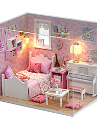 cheap -Dollhouse Adorable / Hand-made House / Creative 1pcs Pieces Kid's / Adults Gift