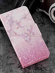 economico -Custodia Per Xiaomi Mi 6X / Mi 5X Porta-carte di credito / A portafoglio / Con supporto Integrale Effetto marmo Resistente pelle sintetica