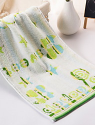 Недорогие -Высшее качество Банное полотенце / Полотенце для рук, Геометрический принт Полиэстер / Хлопок 1 pcs
