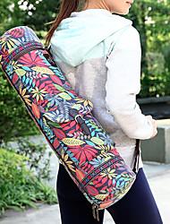 Недорогие -Тренажерный зал сумка / Сумка для йоги Йога / Для спортивного зала Пригодно для носки Полиэфирное микроволокно Красный / Синий