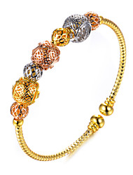 cheap -Women's Cuff Bracelet - Gold Plated Ethnic Bracelet Gold For Party Gift