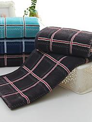 Недорогие -Свежий стиль Полотенца для мытья, Полоски Высшее качество Полиэстер / Хлопок 100% хлопок Жаккардовое плетение 1pcs