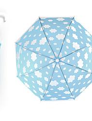 abordables -boy® Plastique Tous Ensoleillé et Pluvieux+D4935 / A l'Epreuve du Vent / nouveau Parapluie Non-Repliable