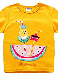 economico -Bambino Unisex Frutta Manica corta T-shirt
