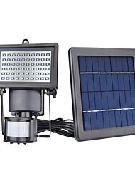 Недорогие -1шт 5W настенный светильник / Свет газонные / LED прожекторы Работает от солнечной энергии / Инфракрасный датчик / Диммируемая Белый 7V