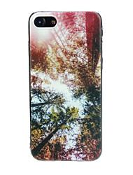 abordables -Coque Pour Apple iPhone X / iPhone 7 Ultrafine / Motif / Adorable Coque Paysage Flexible TPU pour iPhone X / iPhone 8 Plus / iPhone 8