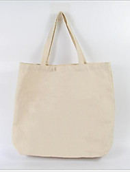 cheap -Women's Bags Canvas Tote Zipper for Outdoor White
