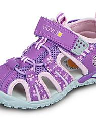 Недорогие -Мальчики Обувь Полиуретан Лето Удобная обувь Сандалии для Лиловый / Пурпурный / Синий