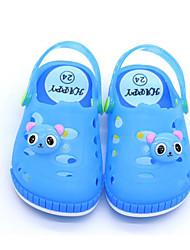 baratos -Para Meninas Sapatos PVC Verão Conforto Chinelos e flip-flops para Fúcsia / Azul