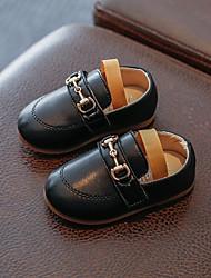 abordables -Fille Chaussures PU de microfibre synthétique Printemps & Automne Chaussures de Demoiselle d'Honneur Fille Mocassins et Chaussons+D6148