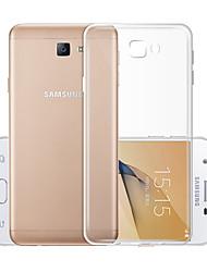 baratos -Capinha Para Samsung Galaxy J5 (2017) Transparente Capa traseira Sólido Macia TPU para J5 (2017)