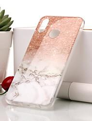 cheap -Case For Huawei P20 lite / P20 IMD / Pattern Back Cover Marble Soft TPU for Huawei P20 lite / Huawei P20 / P10 Lite