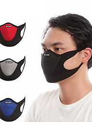 cheap -Pollution Protection Mask Summer Dust Proof / Breathable Cycling / Bike / Bike / Cycling / Trail Unisex Velvet / Lycra Patchwork