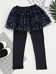 abordables -Pantalones Chica A Cuadros Poliéster Todas las Temporadas Activo Rosa Azul Marino Morado