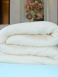 baratos -Confortável - 1 Colcha Primavera & Outono Algodão Sólido