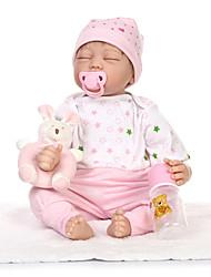 economico -NPKCOLLECTION Bambole Reborn 22 pollice Silicone Per bambino Da ragazza Regalo