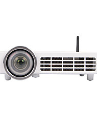 abordables -HTP DL100 DLP Mini Proyector 5000lm Apoyo 1080P (1920x1080) 60-300inch Pantalla