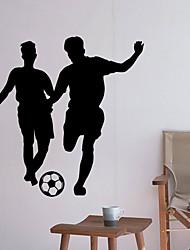 baratos -Autocolantes de Parede Decorativos - Adesivos de parede de pessoas Futebol Americano Sala de Estar Quarto Banheiro Cozinha Sala de Jantar