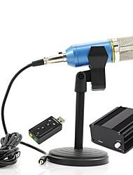 Недорогие -KEBTYVOR BM800 Поликарбонат / Кабель Микрофон Микрофон Конденсаторный микрофон Ручной микрофон Назначение Компьютерный микрофон