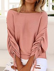 Gładkie Sweter